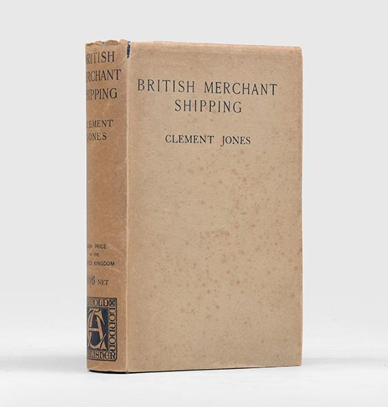 British Merchant Shipping. JONES, Clement.