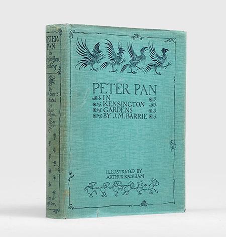 Peter Pan in Kensington Gardens. From The: RACKHAM, Arthur.) BARRIE,