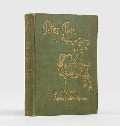 Peter Pan in Kensington Gardens. (From 'The: RACKHAM, Arthur.) BARRIE,