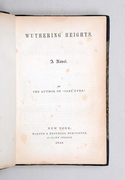 who wrote jane eyre and wuthering heights