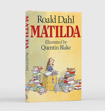 Matilda. Illustrations by Quentin Blake.: DAHL, Roald.