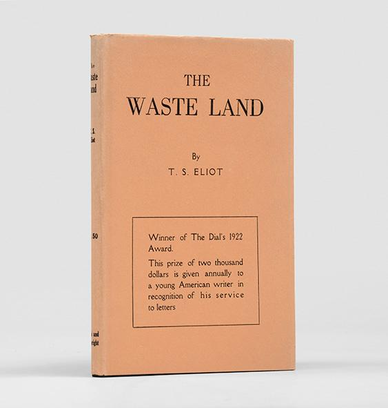 the world of eliot's waste land Most of ts eliot's critics and readers see the wasteland a poem about the crisis   resentment the same world is shown in the waste land which is about the.