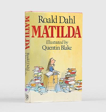 Matilda. Illustrations by Quentin Blake.: DAHL, Roald.