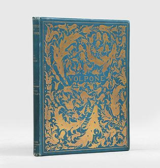 Volpone: or The Foxe. A new edition: WILDE, Oscar.) JONSON,