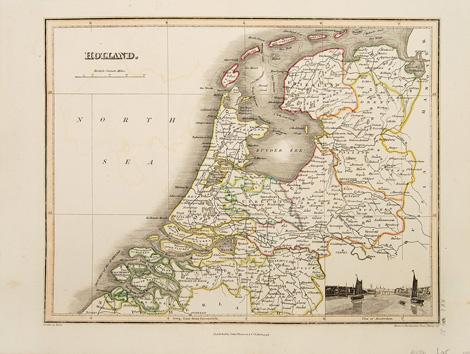 Holland.: WYLD, James. Engraved