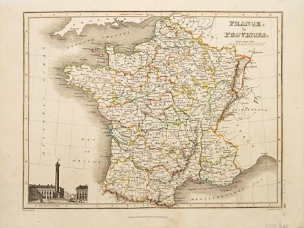 France in Provinces.: WYLD, James. Engraved