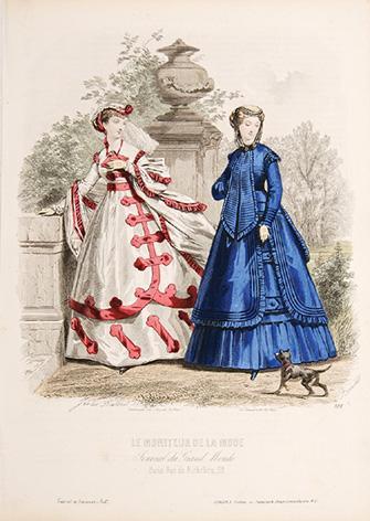 Le Moniteur de la Mode. Journal du: DAVID, Jules.