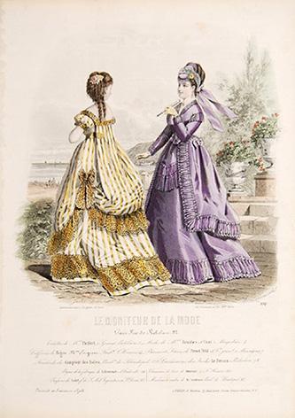 Le Moniteur de la Mode. Paris, rue: DAVID, Jules.