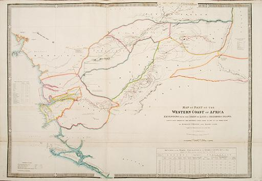 Map of Part of the Western Coast: WYLD, James, 1812-1887