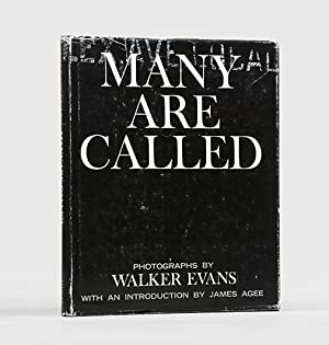 Many are Called. With an Introduction by: EVANS, Walker.