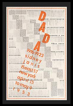DADA. 1916-1923. Texts by Tristan Tzara, Hans Arp, Richard Huelsenbeck and Jacques-Henry Levesque.:...