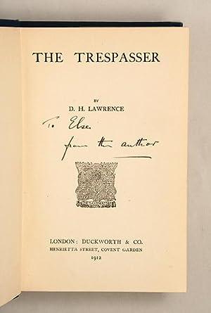 The Trespasser.: LAWRENCE, D. H.