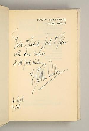 Forty Centuries Look Down.: AUSTIN, F. Britten.