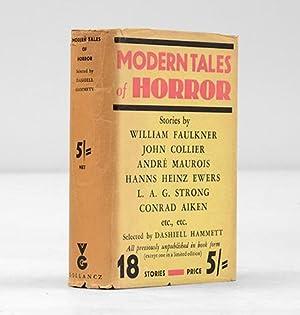 Modern Tales of Horror.: HAMMETT, Dashiell, ed.