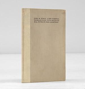 John M. Synge: A Few Personal Recollections,: SYNGE, John M.)