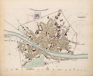 FLORENCE, FIRENZE: Engraved by TURRELL, E.