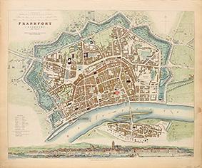 FRANKFORT (FRANKFURT) (AM MAYN): Engraved by T.E.Nicholson.CLARKE, W.B.