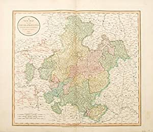A New Map of the Circle of Franconia. from the latest authorities.: CARY, John.