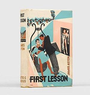 First Lesson. A Novel.: WHITE, T. H.]