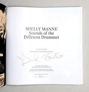 Shelly Manne. Sounds of a Different Drummer.: MANNE, Shelly.) BRAND,