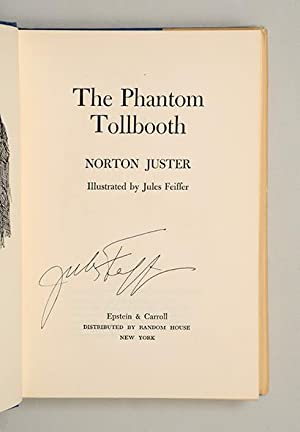 The Phantom Tollbooth.: JUSTER, Norton; Jules