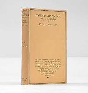 Books & Characters. French and English.: STRACHEY, Lytton.