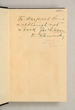 Camera Obscura. A Novel. Translated by Winifred Roy.: [NABOKOV, Vladimir.] NABOKOFF-SIRIN, Vladimir...
