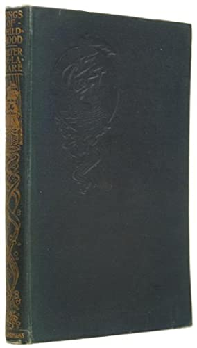 Songs of Childhood. With frontispiece. New impression.: DE LA MARE, Walter.