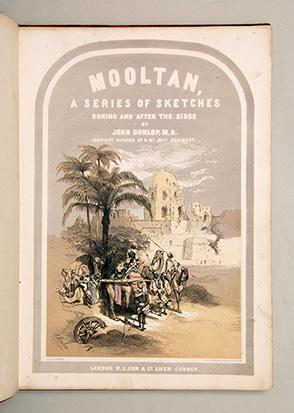 Mooltan, during and after the Siege. Being Twenty-one Drawings, from Sketches taken on the Spot by ...