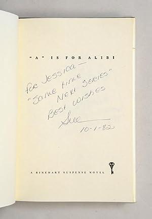 A' is for Alibi.: GRAFTON, Sue.
