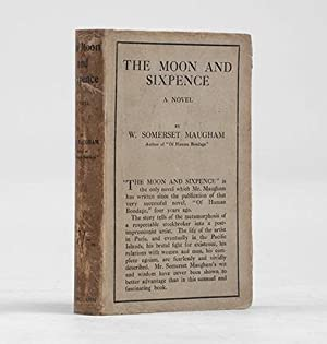The Moon and Sixpence. A Novel.: MAUGHAM, W. Somerset.