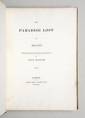 Paradise Lost.: MARTIN, John.) MILTON,