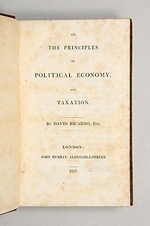 On the Principles of Political Economy, and: RICARDO, David.