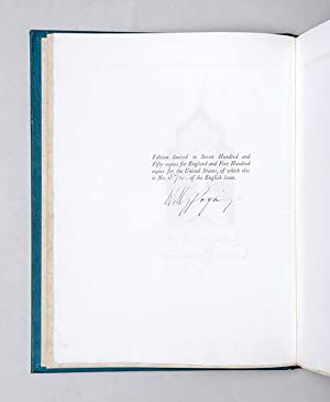The Rubáiyát of Omar Khayyám. The First: POGANY, Willy.) OMAR