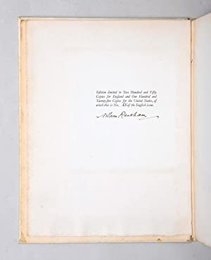 The Legend of Sleepy Hollow. Illustrated by: RACKHAM, Arthur.) IRVING,