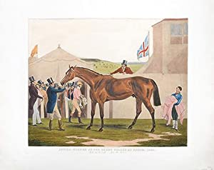 Attila, winner of the Derby stakes at Epsom, 1842. Rode by W Scott after the Race.: TURNER, F.C.