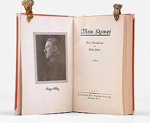 Mein Kampf. Eine Abrechnung. [Vol. II: Die: HITLER, Adolf.