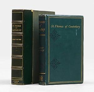 St Thomas of Canterbury. A Dramatic Poem.: DE VERE, Aubrey.