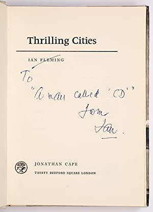 Thrilling Cities.: FLEMING, Ian.