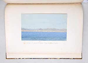 Album of fourteen original watercolours taken on a trip from the Baltic to Russia and Persia. ...