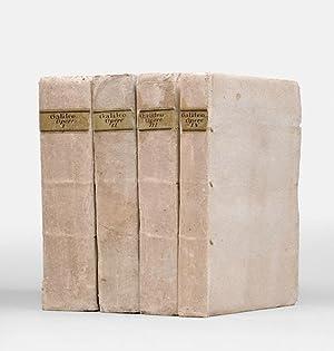 Opere, divise in quattro tomi, in questa: GALILEI, Galileo.