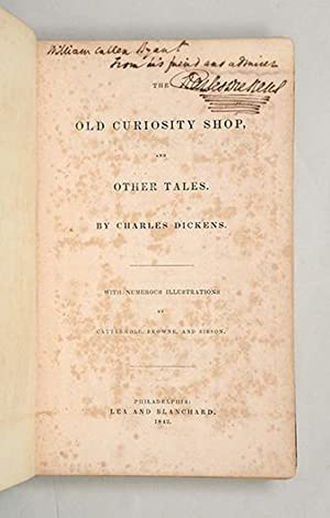 The Old Curiosity Shop.: DICKENS, Charles.