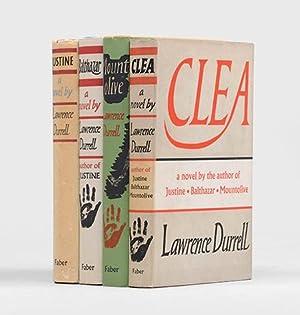 Alexandria Quartet:] Justine; Balthazar; Mountolive; Clea.: DURRELL, Lawrence.