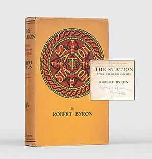 The Station. Athos: Treasures and Men.: BYRON, Robert.