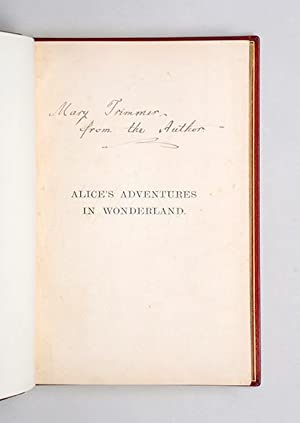 Alice's Adventures in Wonderland; Alice Through the: DODGSON, Charles Lutwidge.]