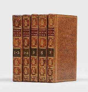 Oeuvres philosophiques de M. D. Hume. Traduites: HUME, David.
