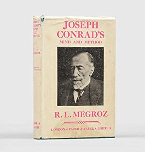 Joseph Conrad's Mind and Method. A Study: CONRAD, Joseph.) MÉGROZ,