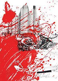 Modern Fiction and Art. Prints by Contemporary: STEADMAN, Ralph, &
