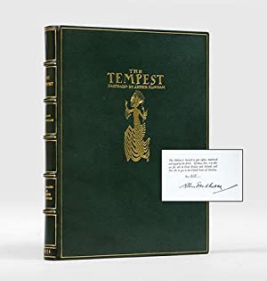 The Tempest. Illustrated by Arthur Rackham.: RACKHAM, Arthur.) SHAKESPEARE,