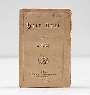 Herr Vogt.: MARX, Karl.